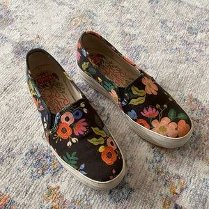 Keds x Rifle Paper Co Stacked Slip Ons